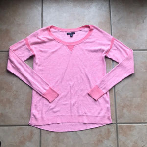 3/$30 American Eagle Pink Stretch Sweater Size XS